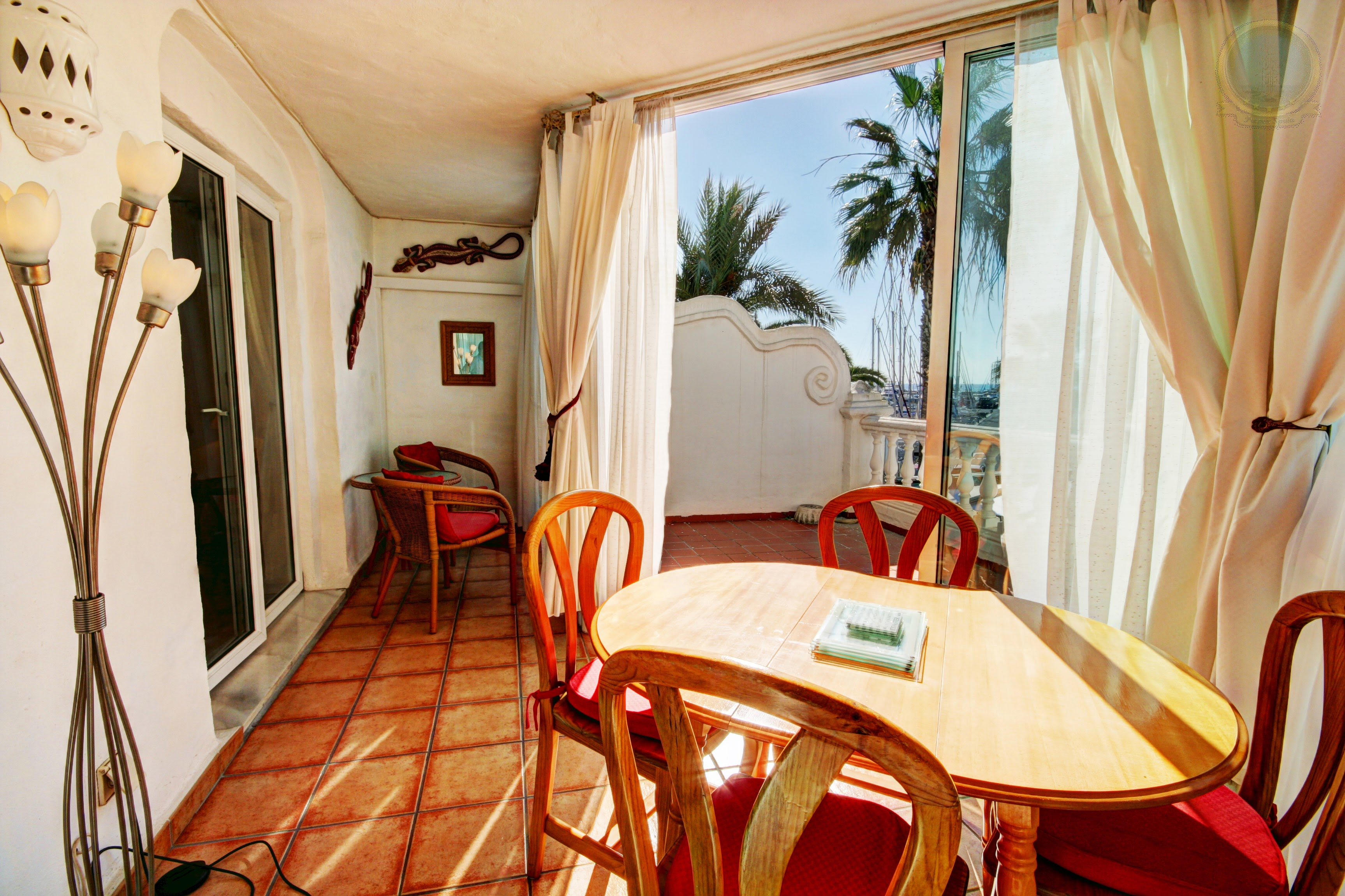1 bed apartment for Sale in Puerto Marina -Terrace from Pueblo Marinero