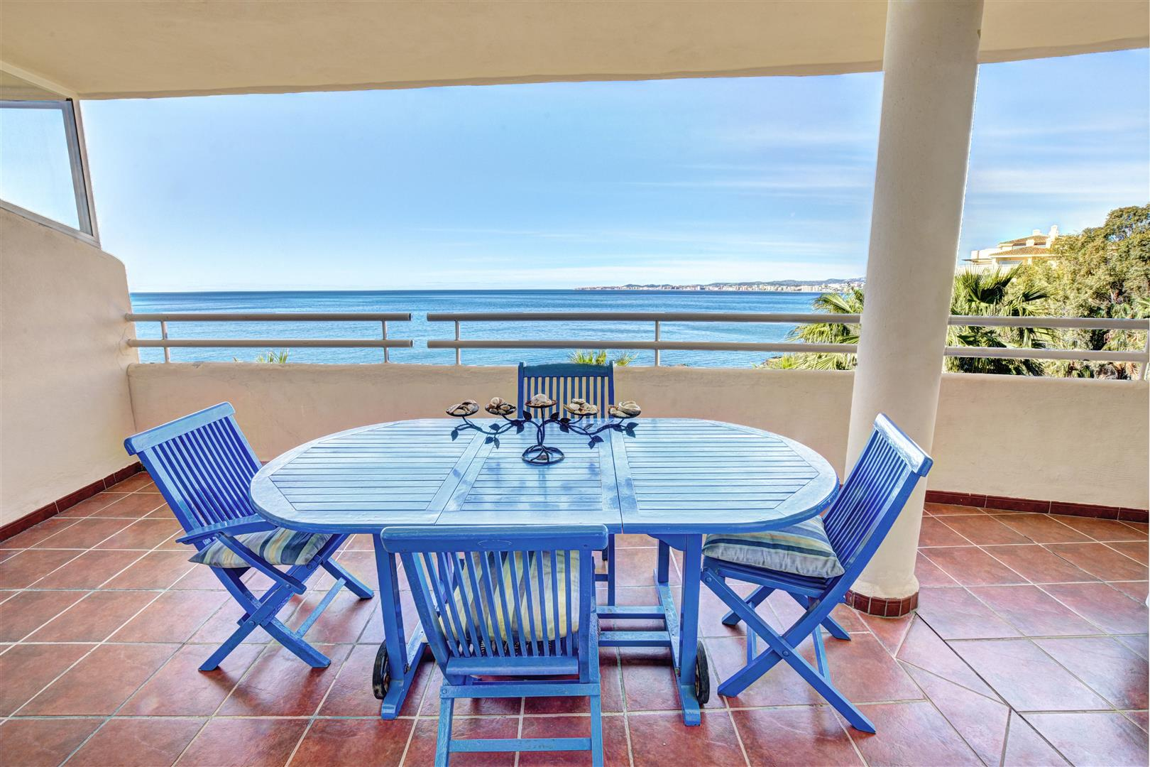 2 bed apartment for sale in Benalmadena Costa Costaquebrada terrace2