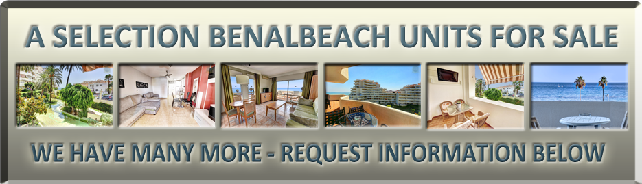 Selection of Apartments in Benalbeach for Sale