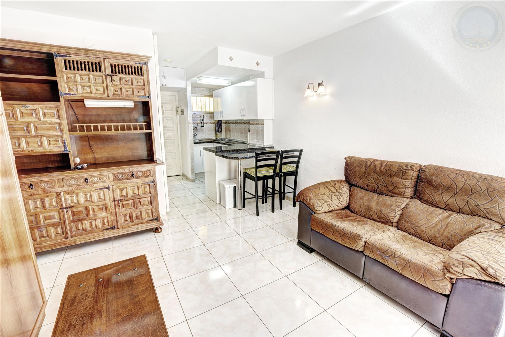 Studio apartment for sale in Benalmadena Costa Minerva lounge