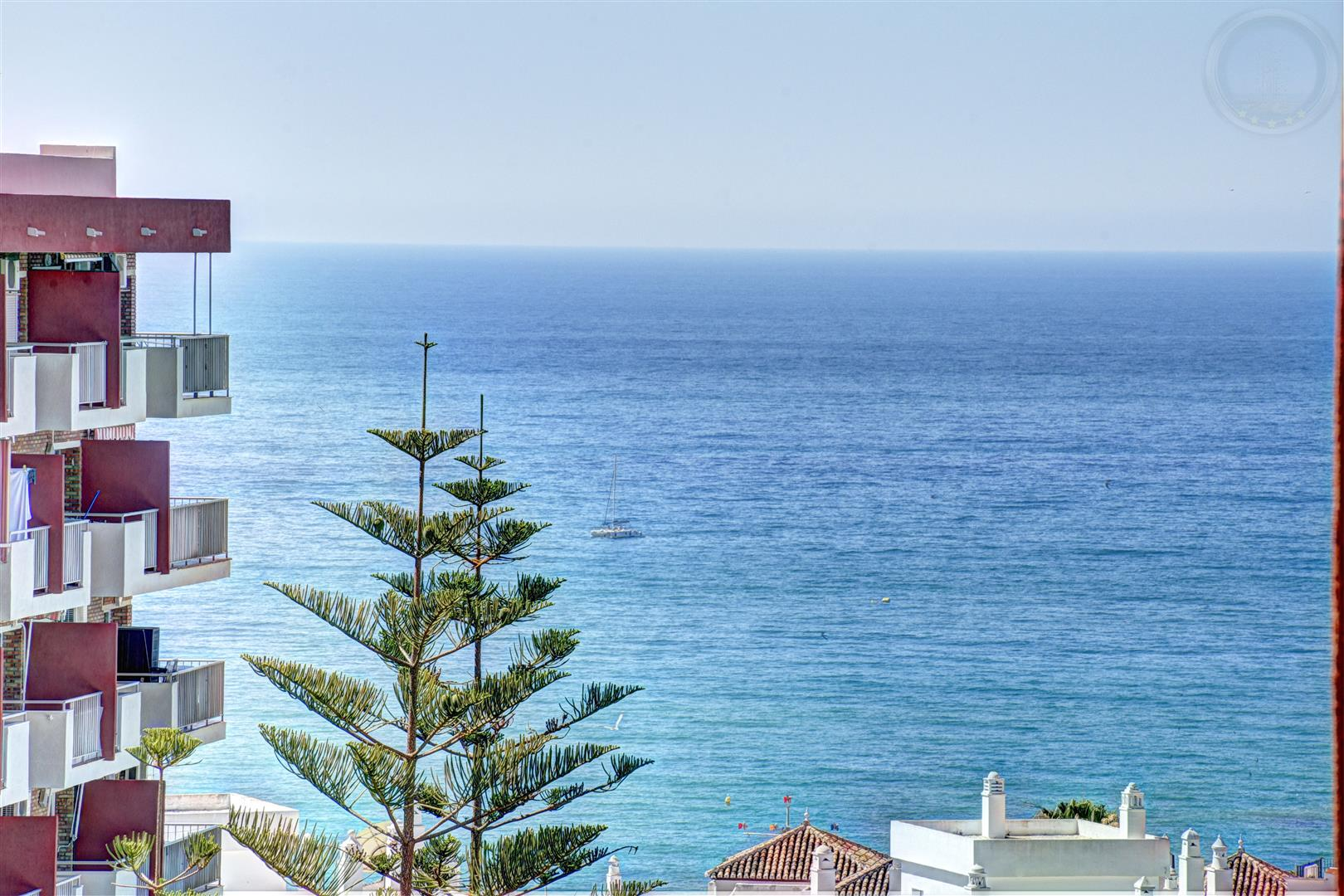 Studio apartment for sale in Benalmadena Costa Minerva sea views