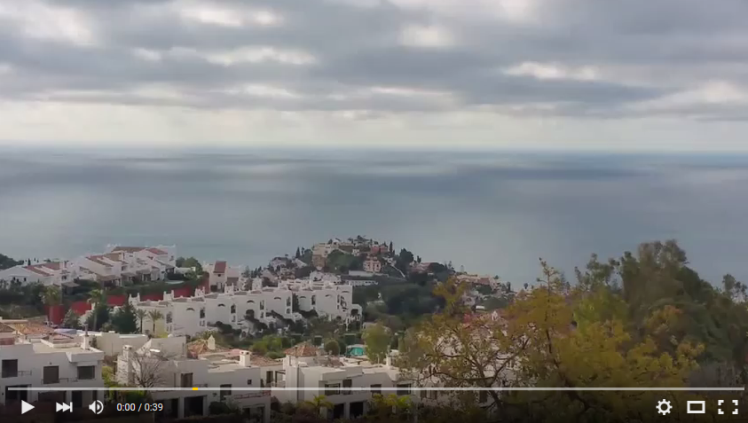 video of casablanca Benalmadena Pueblo and type of property for sale there