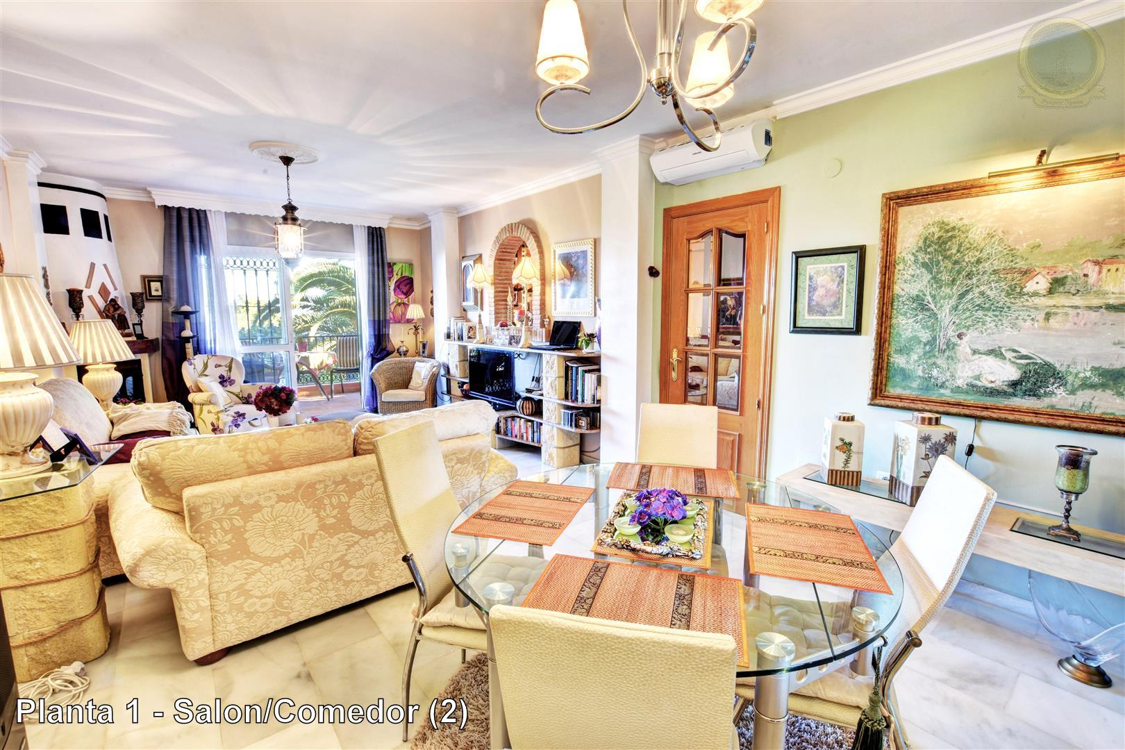 villa for sale in Benalmadena Pueblo - View of Lounge