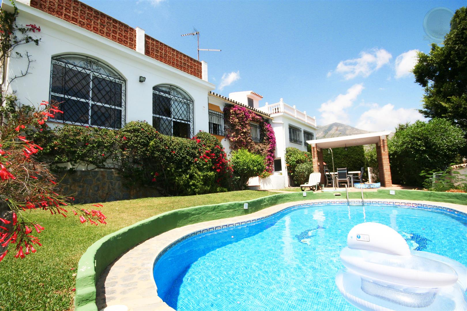 Villa for Sale in Benalmadena Pueblo front view