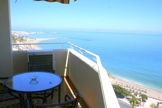 luxury beach front apartment for sale benalmadena costa