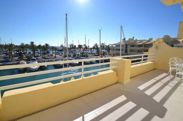 apartment for sale in Poniente de Las Islas Puerto Marina - Terrace