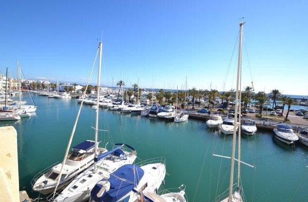 apartment for sale in Poniente de Las Islas Puerto Marina - views