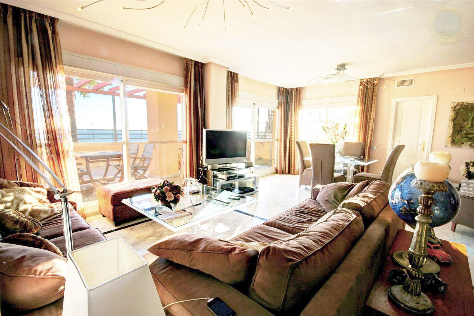 apartment for sale in santa maria benalmadena costa beachfront
