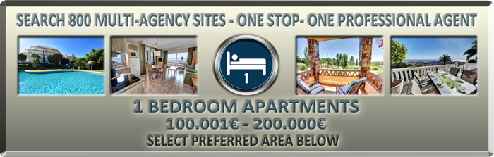 list of apartments on sale in Benalmadena with 1 bed up to 200000euros